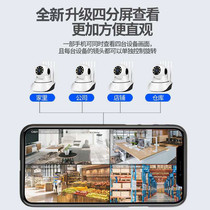 Home indoor monitor wireless wifi camera mobile phone remote network intelligent tracking alarm anti-theft monitoring.