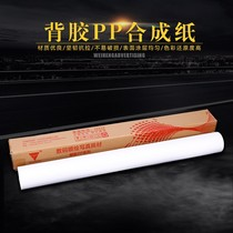 Indoor PP adhesive synthetic paper photo paper guoshun inkjet advertising photo material poster sticker
