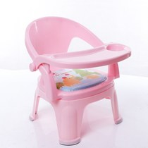 Children eating seat baby dining chair dwarf 1-2-3-6 years old safety Home child chair plastic backrest feeding