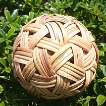 Cuju ball kickball ball handmade rattan ball bamboo hydrangea crafts ancient Football hand-made rattan rattan