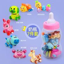 Will run will jump clockwork toys male and female baby baby 0-1 years old winding chain 6-12 months Animal puzzle