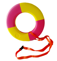 Swimming ring with feces Lifebuoy anti-off belt safety belt outdoor float special connection strap equipment accessories