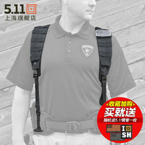 United States 5 11 Virgin strap 56105 multi-functional backpack system breathable nylon multi-resistant buckle 511 strap
