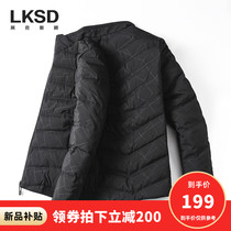 Lexington Short Down Jacket Mens warm jacket 2019 Winter mens new collar duck down jacket tide