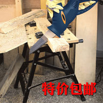 Folding saw table woodworking table multi-function portable lifting decoration push table saw flip woodworking console
