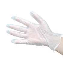 Disposable gloves solvent-resistant pvc eco gloves paint construction gloves rubber gloves translucent