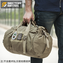 Area 7 pufferfish tactical bucket bag fitness sports basketball bag short Travel Travel Leisure Messenger shoulder bag