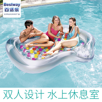 Gonflable Bestway eau chaise lounge chaise flottante plage transat flottant flottant lit gonflable attraction aquatique