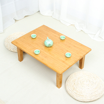 Bamboo Kang table floating window table Kang a few bed table tatami table coffee table table Kang a few small square table table low table