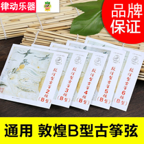 Dunhuang brand guzheng string type B string No. 1-21 single set of general-purpose piano line original flagship store authentic