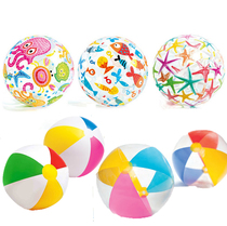 INTEX Children's Beach Play Toy Ball Gonflable Beach Ball Volleyball Kids Pool Water Polo.