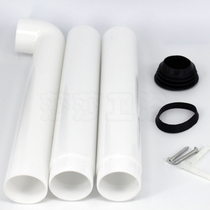 Squat toilet tank flush tank outlet pipe fittings sewer seal ring rubber pad toilet plastic drain pipe elbow