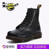 micle martens1460 Martin boots female British high 8-hole couple boots DR black soft leather men and women boots