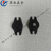One-way buffer damping shaft hinge damper plastic damping shaft gear shock absorber rotation damping