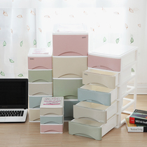 Office desktop storage cabinet stationery cabinet plastic multi-storey small drawer file cosmetics sundries jewelry