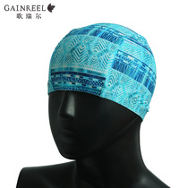 Song Riel new fashion Sweet print men and women general bubble hot spring comfortable not head swimming cap 18009YO