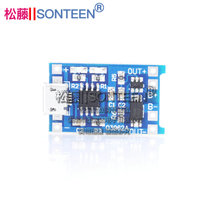 Lithium battery charging board 5v to 4 2v 1A charging module charger MICROUSB interface with over-discharge protection