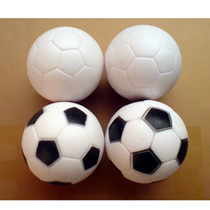 Haruno table football machine Football Dorigine Petit football Football Ballon de football accessoires de football noir et blanc football