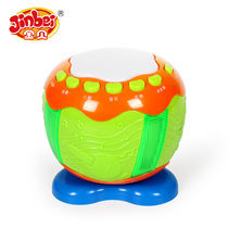 Jinbei Baby hand Pat toy Drum Baby Pat drum 6 months 3 year old early teach story Enlightenment music drum