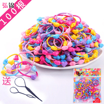 South Korea cute not hurt children hair rope jewelry tie hair girl rubber band Hair Ring head rope headdress hair accessories