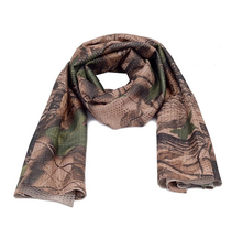 Outdoor riding multi-functional camouflage camouflage scarf scarf scarf unisex windproof warm scarf