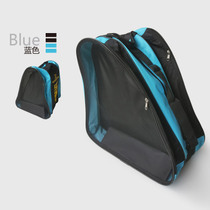 Le Xiu adult increase three-tier package roller skating bag adult skating shoes bag roller skates bag large bag triangle bag