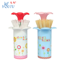 Leisurely rabbit fashion creative toothpick box automatic toothpick cylinder living room household floret toothpick tube