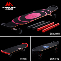 Maxi top long board Anti-Collision Protection double Alice skateboard edge protection head size fish plate protection universal thickening