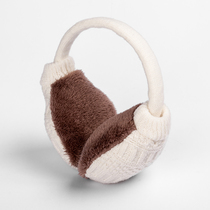 MU er cute earmuffs men and women winter earmuffs knitted ear bag wool ear warm earmuffs ear warmers removable and washable