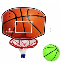 Large childrens basketball frame indoor wall-mounted basketball basket mobile basketball frame bidable quasi-shooting Board