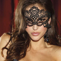 Sexy lingerie accessories goggles female sexy mask female extreme temptation adult lace hollow veil supplies