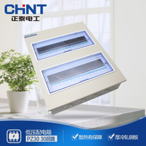 CHiNT lighting box distribution box strong electric box PZ30 30 circuit concealed electric box