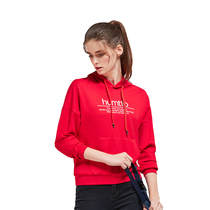 The United States Hummer way sweater women hooded 2019 new spring and autumn round neck hedging loose casual wild sports shirt tide