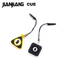 JIANJIANG billiards pendant around the cartoon toy billiard table fans key mobile phone pendant 2 price