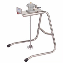 WOLFKING Wolf King 1 gallon with rack stainless steel pneumatic mixer paint mixer paint mixer