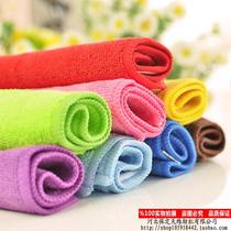 Mahjong machine accessories mahjong brand scrub dedicated small towel absorbent towel wipes 30 * 30 colors and more quality