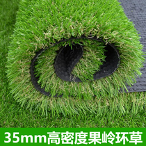 Genuine Golf lawn artificial turf indoor exterior golf green project Ring grass 35mm high density fake grass