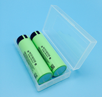 Original imported Panasonic 3400 mAh 18650 lithium battery 2 to send storage battery box 3400mah