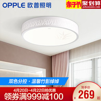 Op lighting round bedroom LED ceiling lamps romantic and warm pastoral modern minimalist room lighting WS