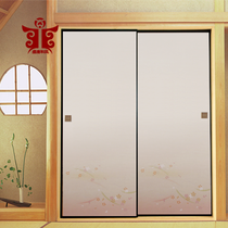 The Tang Dynasty and the wind 505# the Japanese style up and down the door paper Fushma paper tatami small door floating painting Fusma