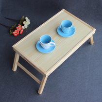 Japanese-style floating window table tatami low table folding Kang table wooden coffee table dwarf Square table home tea table Table