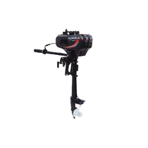 Air Kai 2 Red 3 5 horsepower outboard machine outboard machine marine propeller hanging paddle machine boat motor can be equipped with a rubber boat