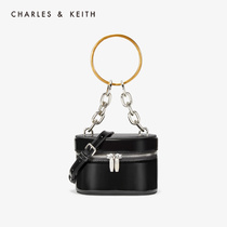 CHARLES & KEITH2019 fall new CK2-50700909 metal chain accessories ladies shoulder bag