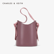 CHARLES & KEITH2019 autumn new product CK2-10671073 kink ornaments hand shoulder bucket bag female