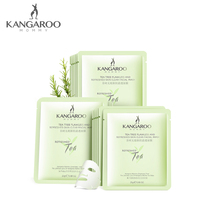 Kangaroo mother tea tree flawless new muscle Moisturizing Mask 18 tablets pregnant women moisturizing mask skin care cosmetics