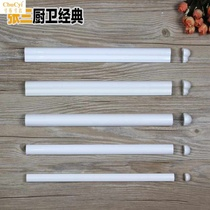 Nordic tile small waist white matte strands bead closing edge waist line high light ohmic line corner Yang Angle 3