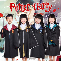 Childrens Harry Potter cloak costume cosplay Harry Potter Magic Robe Hermingramphen many school uniforms
