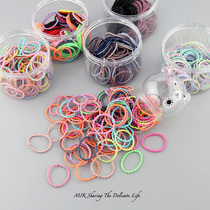 Rubber band childrens head rope girls headdress does not hurt hair tie hair band Baby small rubber band Girl Hair Ring hair accessories