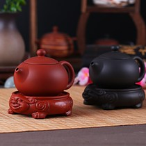 Kung Fu Tea Set tea ceremony accessories pot pad purple clay pot holder teapot pad pot holder teapot ceramic base tea