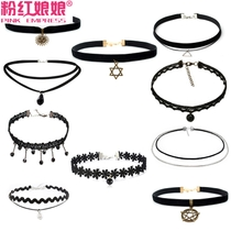 Korean edition decoration hundred short clavicle chain female neck jewelry neck strap simple necklace handmade collar